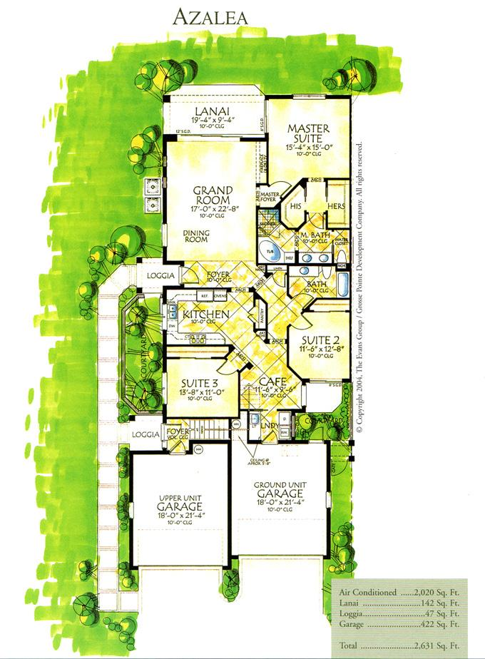 Tarpon gardens condos tarpon point marina cape coral fl for Garden floor design